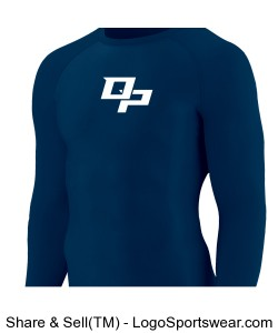 YOUTH Hyperform Compression long sleeve Design Zoom