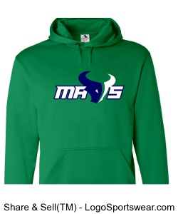 Youth Mavs Wicking Hoodie Design Zoom
